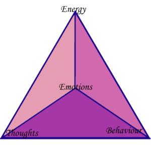Energy, Thought, Emotion. Behavior